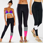 Womens Yoga Fitness Running Leggings Gym Exercise Cycling Sports Pants Trousers