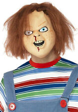 Official Chucky Over Head Latex Mask Halloween Horror Fancy Dress P8710