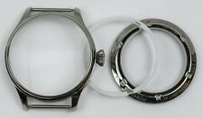 Pilots Watch case set steel 6490, 6498, seagull ST3600, ST3621 homage sterile