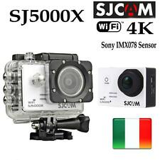 SJ5000X ELITE SJCAM 4K WIFI SPORT CAMERA HD SUBACQUEA 12MP VIDEOCAMERA BIANCO