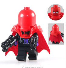Red Hood Batman Movie custom minifigure Fits Lego - TRUSTED UK SELLER