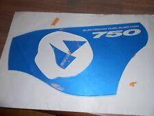 NOS Suzuki OEM LH Decal Fairing 1996-1999 GSX-R750 GSXR750 68190-33E70-K3G