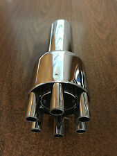 "Lot Of 2 Chrome 6 Barrel ""Gatling Gun"" Exhaust Tips - 2 1/8"" x 9 1/2"" - s/o 2"""