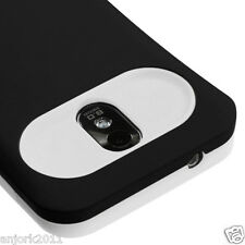 Samsung Galaxy S2 4G Sprint Boost D710 R760 Hybrid Case Cover Black White