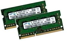 2x 4GB 8GB DDR3 RAM 1333Mhz ASUS ASmobile A42 Notebook A43E Samsung Speicher