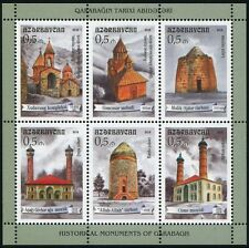 Azerbaigian Azerbaijan 2014 chiese moschee Churches mosques ** MNH
