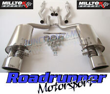 Milltek SSXAU116 Audi RS4 B7 Exhaust System Non Resonated Inc Valves Polish Oval