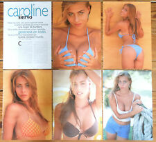 CAROLINE SIERVO 1999 10 page sexy article clippings model sexy