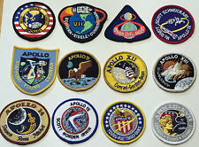 Apollo Mission Patch Emblems Apollo 1,7,8,9,10,11,12,13,14,15,16,17 NASA Made US