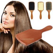 Professional Large Paddle Hairbrush Tangle Free Cushion Massage Comb Brush New