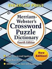 Merriam-Webster's Crossword Puzzle Dictionary, Fourth Edition  (FREE 2DAY SHIP)