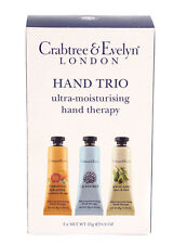 CRABTREE & EVELYN HAND CREAM 3 X 25G ULTRA MOISTURISING THERAPY CREAM  LA SOURCE
