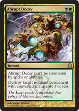 4 Abrupt Decay - Return to Ravnica MtG Magic Gold Rare 4x x4