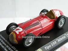 ALFA ROMEO ALFETTA 159 FANGIO MODEL CAR 1951 1/43 SIZE F1 VERSION PKD R0154X{:}