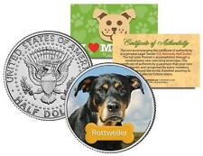 "ROTTWEILER US KENNEDY HALF DOLLAR ""The Dogs"" COIN"