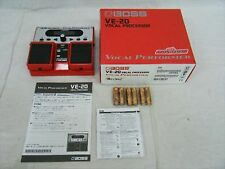 NEW BOSS VE-20 Vocal Performer Voice Effects Processor F/S from japan
