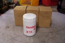 (3) NEW KENDALL K11 SPIN-OFF OIL FILTER CROSSES TO AC DELCO PF56 OR FRAM PH3600
