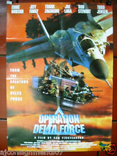 Operation Delta Force {Ernie Hudson} Original Lebanese Movie Poster 90s