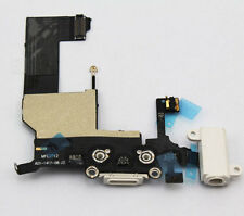OEM Charging Port Microphone Headphone Jack Flex Cable Part For iPhone 5 White