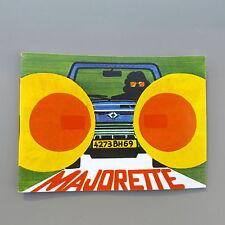 MAJORETTE  - ANCIEN PETIT CATALOGUE ANNEES 70 -