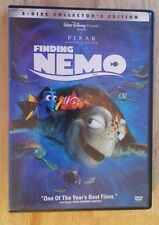 DISNEY PIXAR FINDING NEMO COLLECTOR'S EDITION 2-DISC DVD SET - FREE SHIPPING