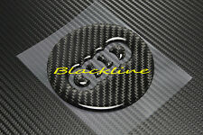 Carbon Fiber Steering Wheel Emblem Decal Cover For Audi A3 S3 Q3 TT A7 Q7 S line