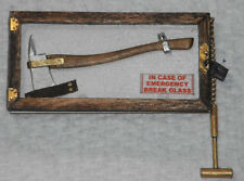 Dollhouse miniature handcrafted Axe case with axe and hammer 1/12th scale Active