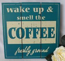 Shabby chic vintage réveiller et l'odeur du café SIGNE cuisine du restaurant nouveau
