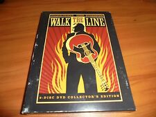 Walk the Line (DVD, 2006, 2-Disc Widescreen) Joaquin Phoenix Used (Johnny Cash)