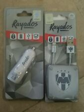 OFFICIAL MONTERREY RAYADOS CAR CHARGER (2 OUTPUT) 12 VOLT WITH USB CABLE FOR IPH