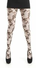 Pamela Mann Comic Grunge Printed Tights