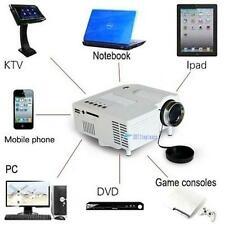 Mini Home Cinema Theater 1080P HD Multimedia USB LED Projector AV TV VGA HDMI TL