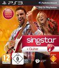 PS3 Game Singstar Singstar Guitar New Playstation 3 Karaoke