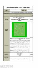 FA Level 1 Soccer Football COACHING SESSION PLANS - 6 Sessions