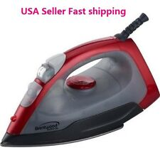 Brentwood Steam IRON Dry Spray Clothes Iron Red Plancha a Vapor USA Seller