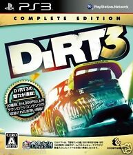 Used PS3  Dirt 3  SONY PLAYSTATION 3 JAPAN JAPANESE IMPORT