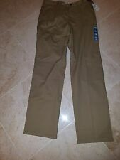 DOCKERS MEN'S EASY KHAKI FLAT FRONT PANTS STRAIGHT FIT 34X36 MSRP $50 NWT