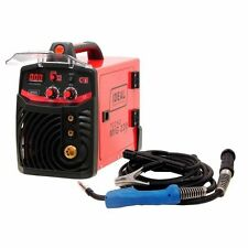 IDEAL TECNOMIG 220 MIG MAG FLUX MMA WELDER 200A GAS & GASLESS INVERTER 1PHASE!