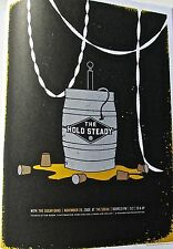 The Hold Steady  MINI CONCERT POSTER REPRINT FOR ORLANDO, FL 2006