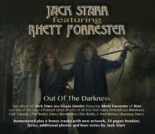JACK STARR feat. RHETT FORRESTER - Out Of The Darkness CD Reissue 2013