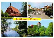 Luftkurort Preetz Gemany Postcard Kirchsee Lake Town Centre Plom Posted