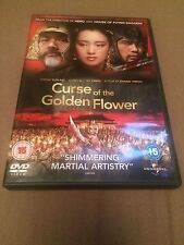 Curse Of The Golden Flower (DVD, 2007) chow yun fat, gong li, region 2 uk dvd