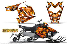 POLARIS RUSH PRO RMK 600/800 SLED SNOWMOBILE GRAPHICS KIT CREATORX INFERNO INFO
