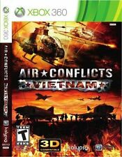 Air Conflicts Vietnam XBOX 360! WAR, WARFARE, PILOT JETS, HELICOPTER, COMBAT