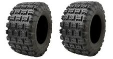 YAMAHA RAPTOR 250 2008–2013 Set of 2 Tusk Voltage Tires 20x11-9 6ply