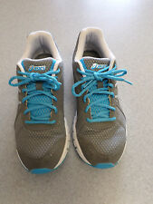 "Asics ""Rush 33"" gray and blue, running shoes. Women's 9 (eur 40.5)"