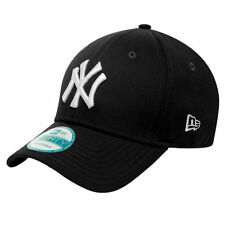 New York Yankees MLB Baseball New Era 9Forty Cap Kappe schwarz weisses Logo