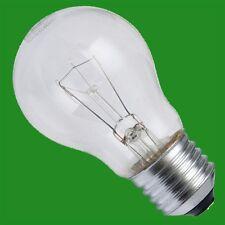 12x 40W CLEAR INCANDESCENT STANDARD FILAMENT GLS LIGHT BULBS, ES, E27, Screw