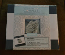 "New ~ Tapestry Scrapbook / 14 Pre-Made Pages  ""WEDDING""  8"" x 8"" COMPLETE ALBUM"