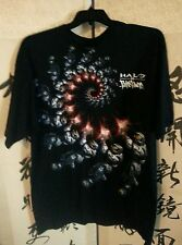 ECKO UNLTD VERSUS HALO XBOX 360 BLACK GRAPHIC MENS T-SHIRT SIZE XL.